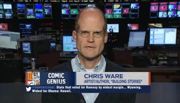 Chris Ware na TV