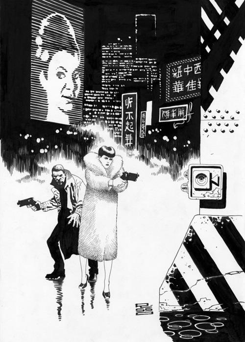 Blader Runner e Alien por Eduardo Risso