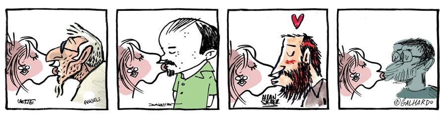 Beijaço na Folha