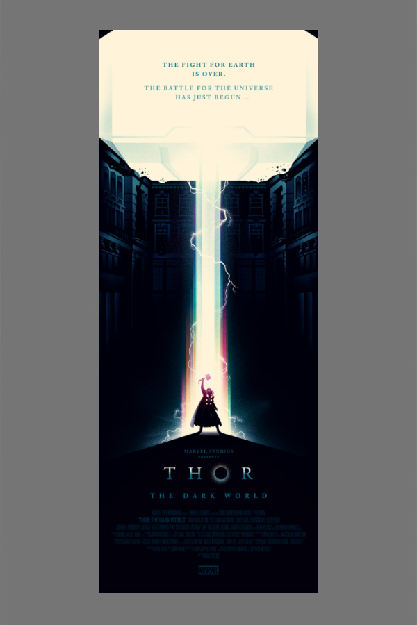 Thor: The Dark World por Olly Moss