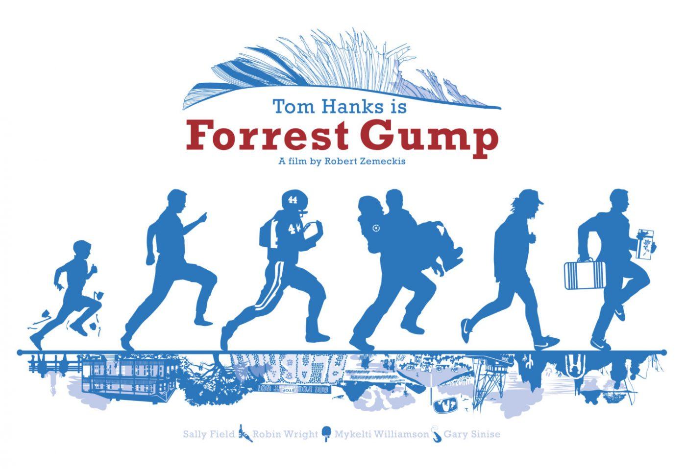 Forrest Gump, por Chelsea Patterson