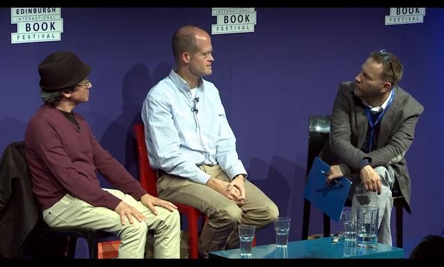 Chris Ware e Joe Sacco na Edinburgh International Book Festival