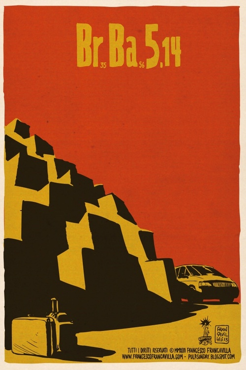 Breaking Bad S05E14 e E15, por Francesco Francavilla