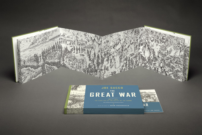The Great War: a nova HQ de Joe Sacco