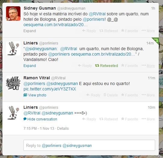 E o que o Liniers tem a dizer sobre o quarto Liniers?