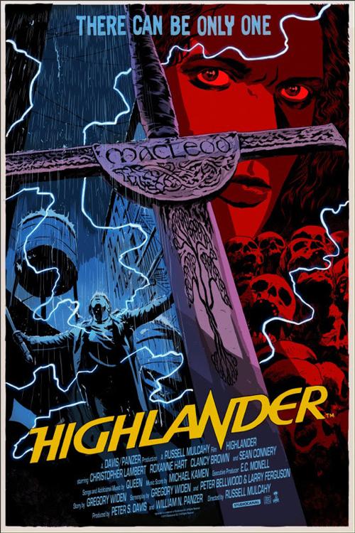 Highlander, por Francesco Francavilla