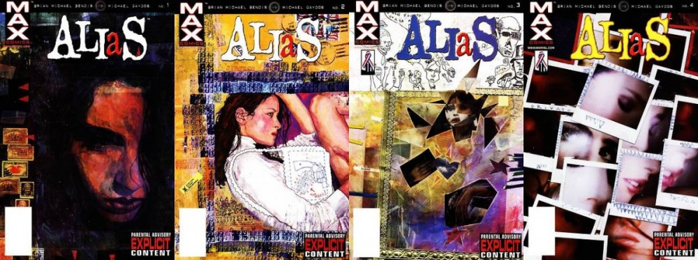Todas as capas de Alias