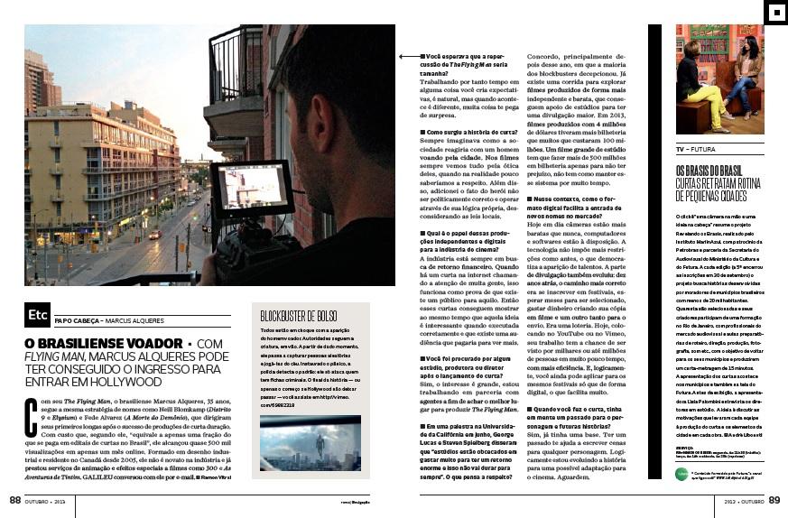 Entrevista com Marcus Alqueres, o diretor de The Flying Man