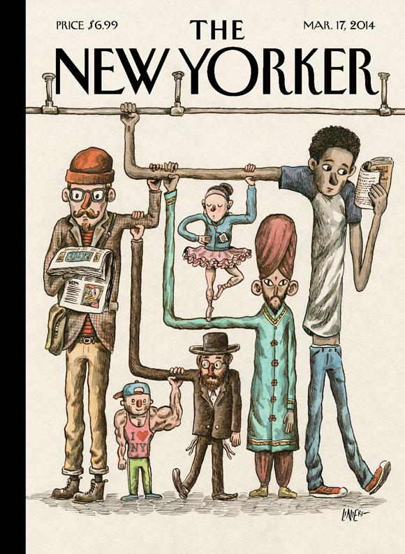 Liniers na capa da New Yorker