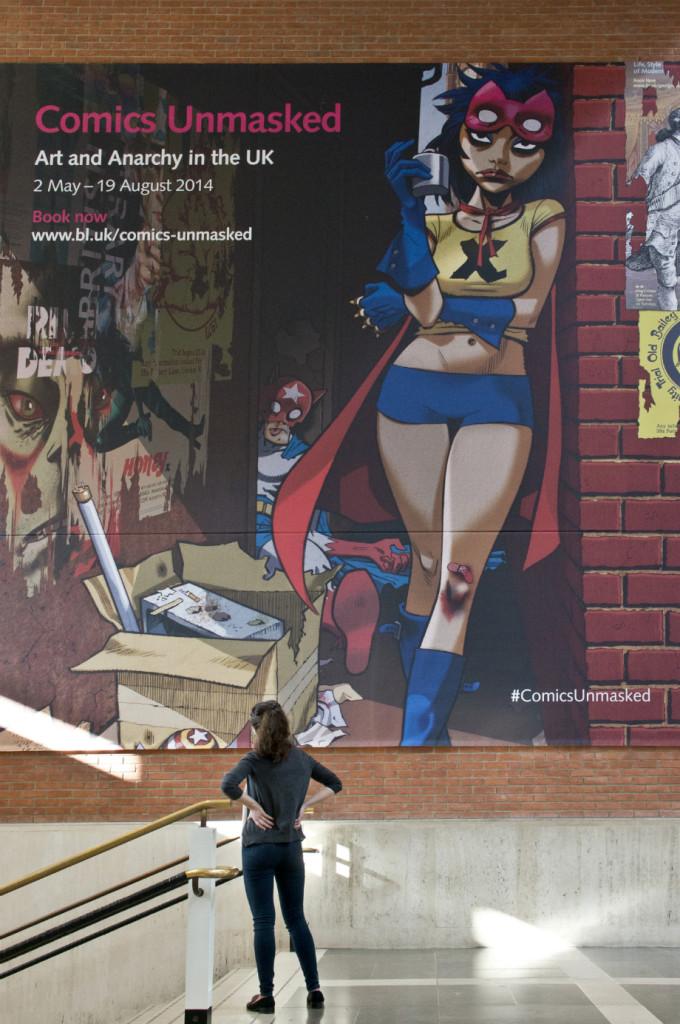 Comics Unmasked: a exposição de HQs da Biblioteca Britânica