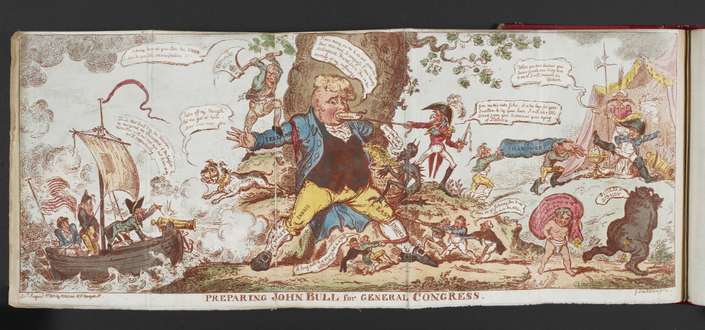 Preparing-John-Bull-for-General-Congress-The-Scourge-1813-by-George-Cruikshank-c-British-Library-Board