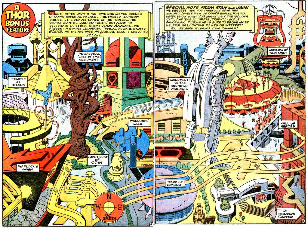 A cartografia dos quadrinhos