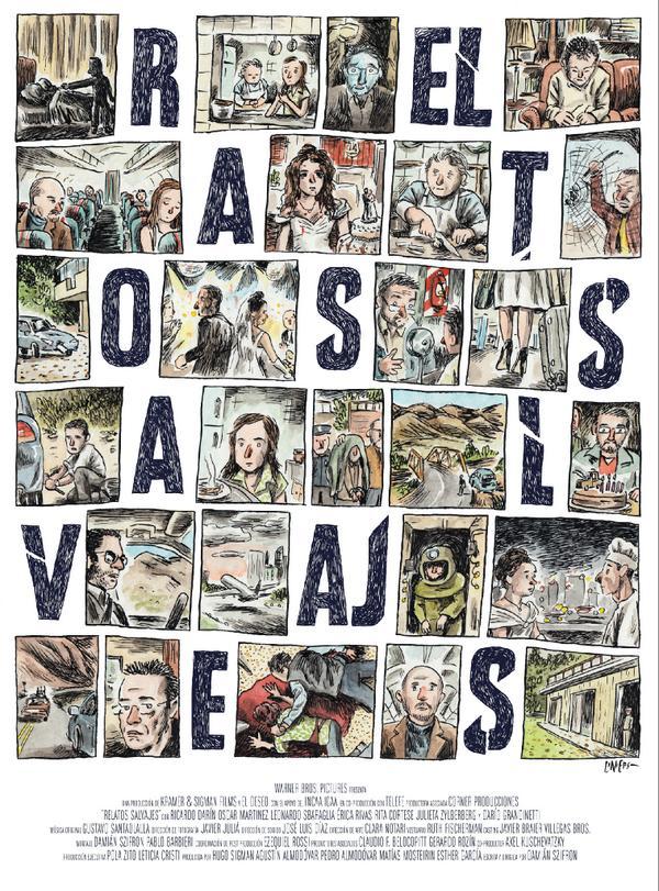 O pôster de Liniers para Relatos Selvagens