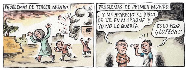 Liniers e os problemas do terceiro mundo X os problemas do primeiro mundo