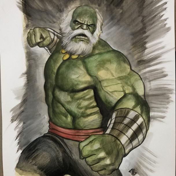 Os sketchs de Adi Granov na New York Comic Con