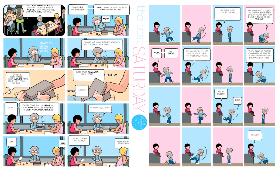 The Last Saturday: a HQ do Chris Ware pro Guardian – Parte #7