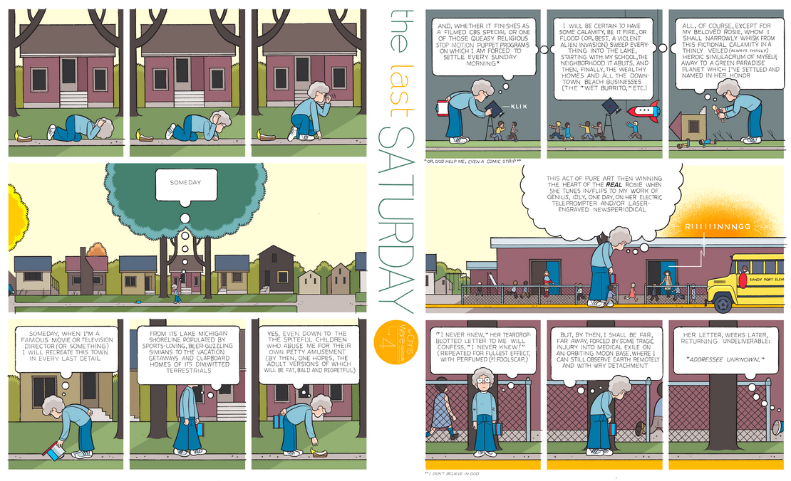 The Last Saturday: a HQ do Chris Ware pro Guardian – Parte #5