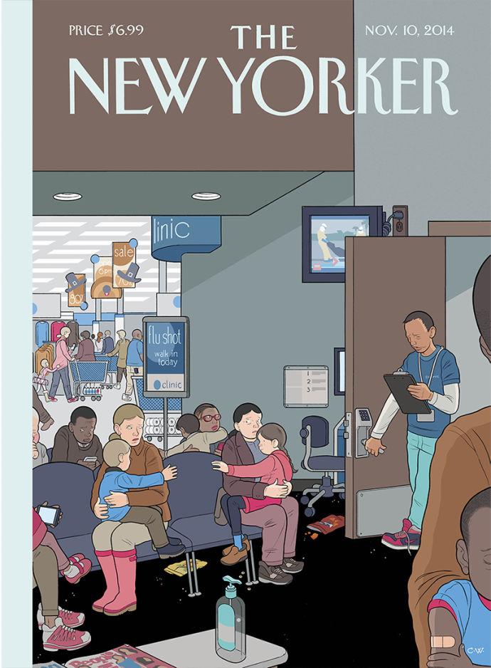 Chris Ware de volta à capa da New Yorker