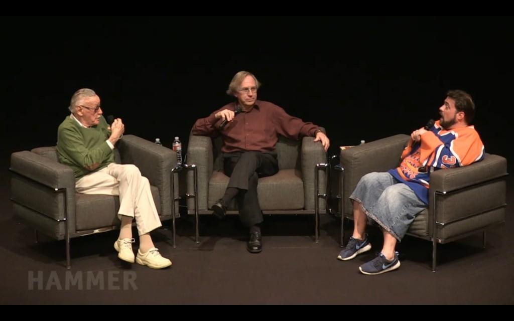 Stan Lee, Roy Thomas, Kevin Smith e um papo sobre os 75 anos da Marvel