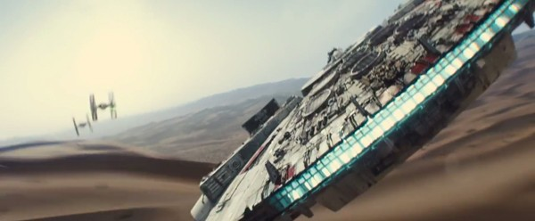 Sobre o primeiro trailer de Star Wars: O Despertar da Força