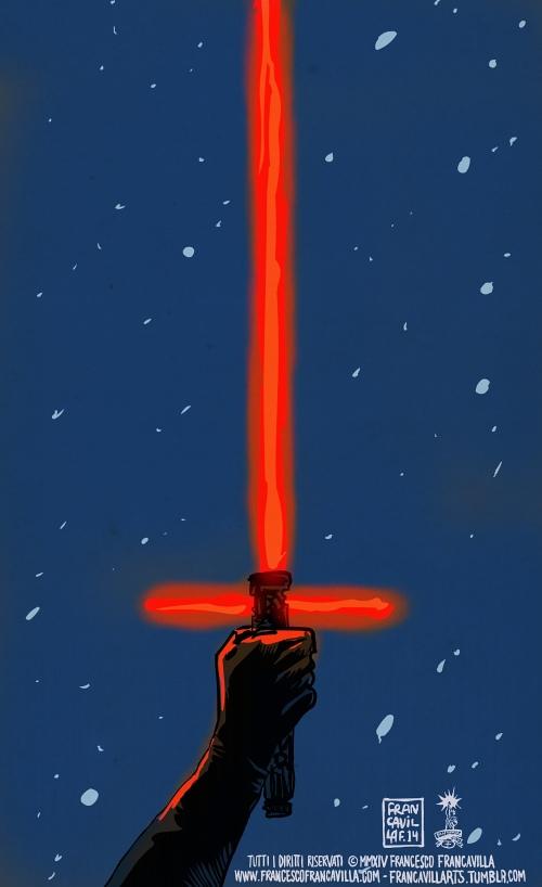 Star Wars – O Despertar da Força, por Francesco Francavilla