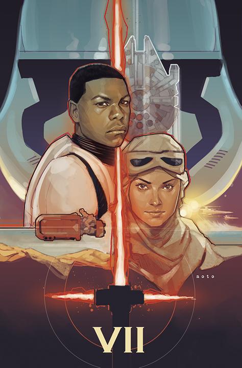 Star Wars – O Despertar da Força, por Phil Noto