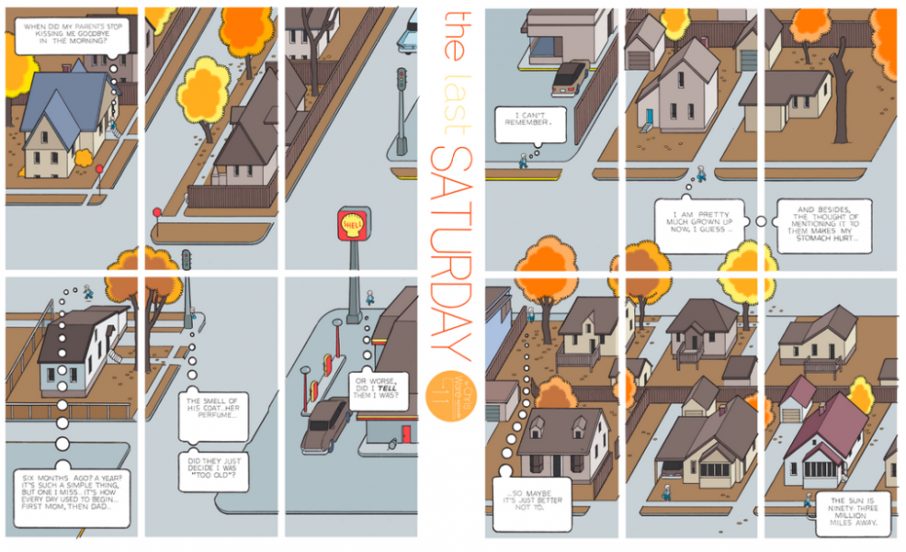 The Last Saturday: a HQ do Chris Ware pro Guardian – Parte #12
