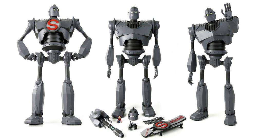 O bonequinho de de luxo de O Gigante de Ferro