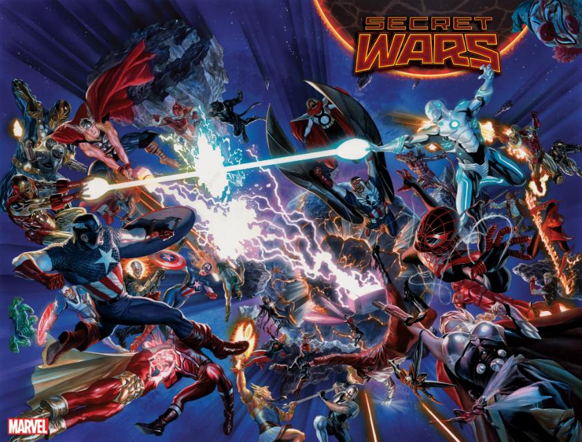 As novas Guerras Secretas da Marvel, o fim do Universo Ultimate e minha primeira série mensal de super-heróis