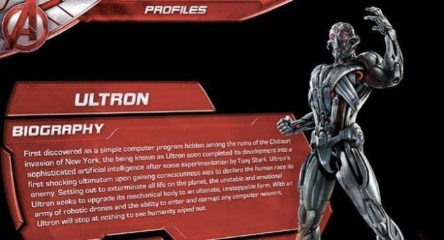 Vingadores: Era de Ultron – Perigo X Ultron