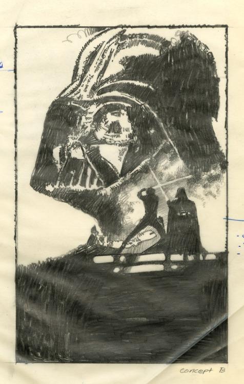 A Vingança do Jedi, por Drew Struzan