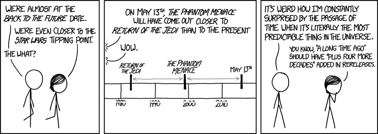 Xkcd e Star Wars