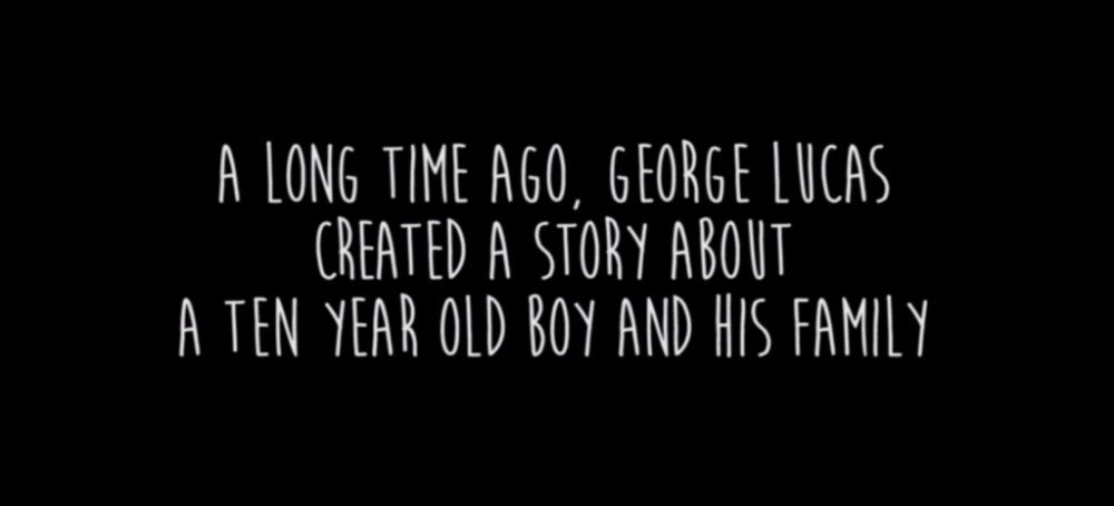Boyhood, por George Lucas