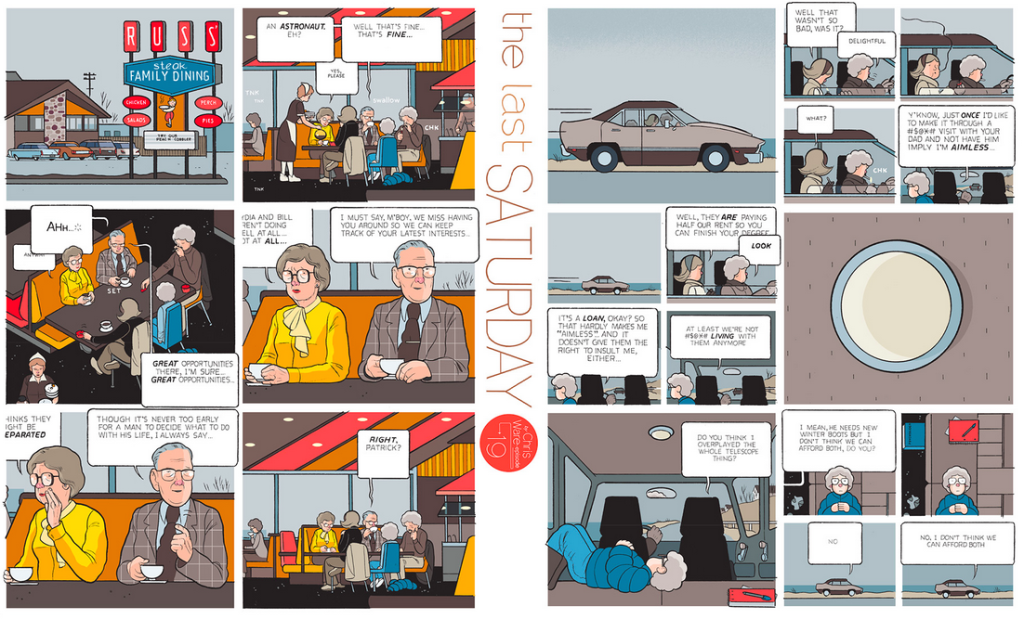 The Last Saturday: a HQ do Chris Ware pro Guardian – Parte #20