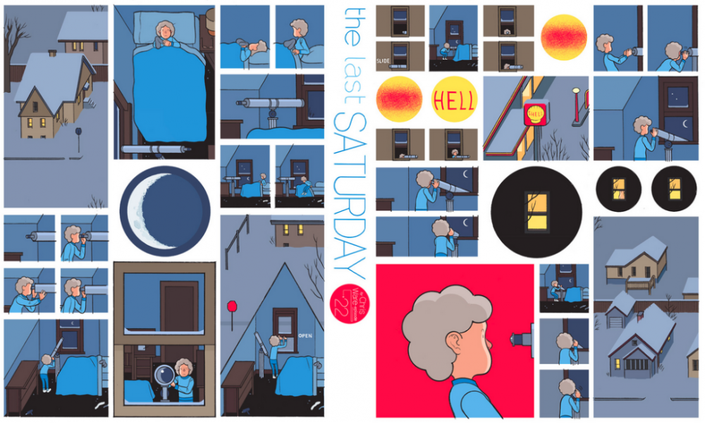 The Last Saturday: a HQ do Chris Ware pro Guardian – Parte #23