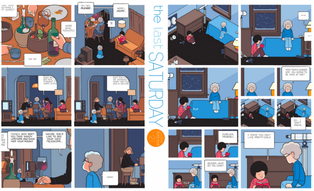 The Last Saturday: a HQ do Chris Ware pro Guardian – Parte #22