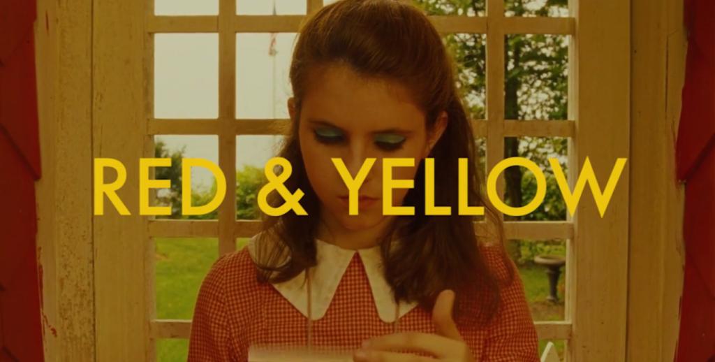 Wes Anderson, o vermelho e o amarelo