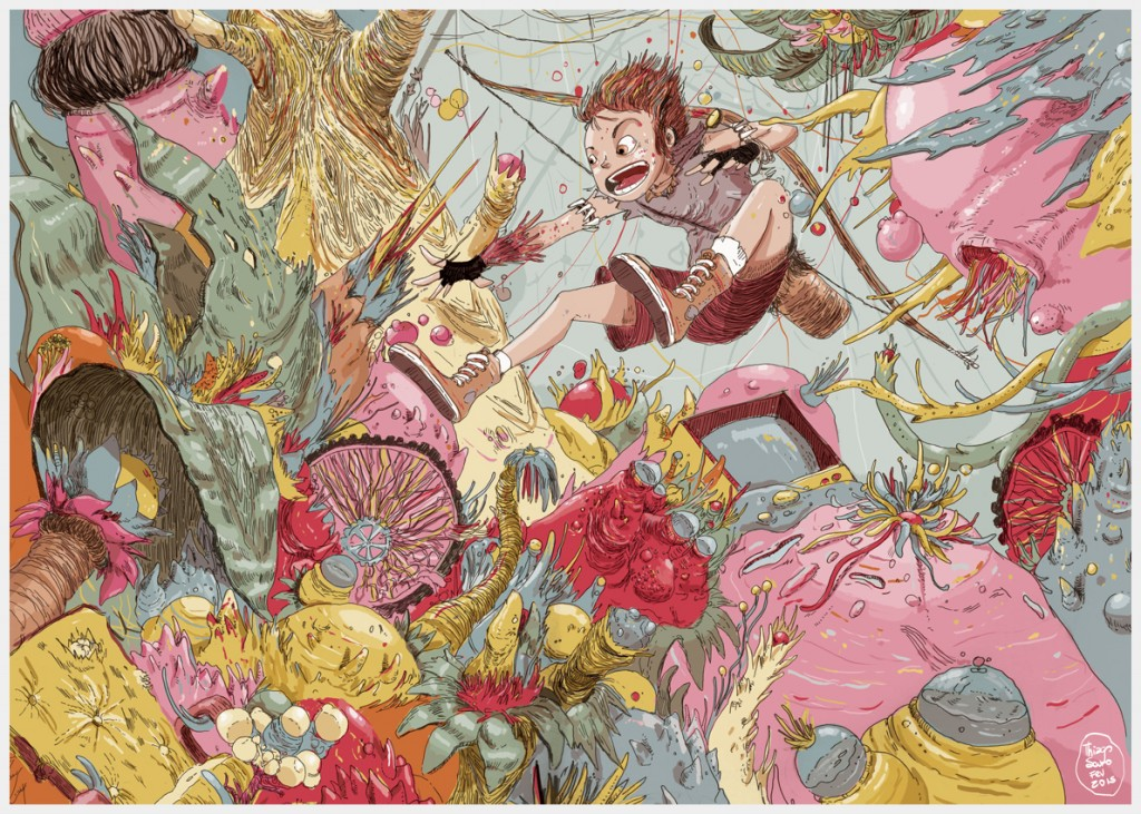 Uma arte de Labirinto, trabalho que o autor pretende lançar em 2015