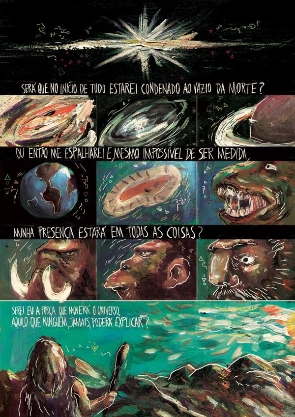 Em Supernova Thiago Souto também trabalhou com uma trama de ficção científica