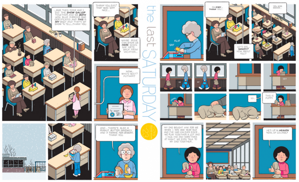 The Last Saturday: a HQ do Chris Ware pro Guardian – Parte #24