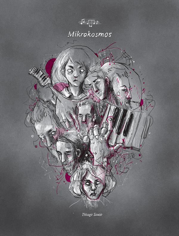 A capa de Mikrokosmos, lançada em novembro de 2014