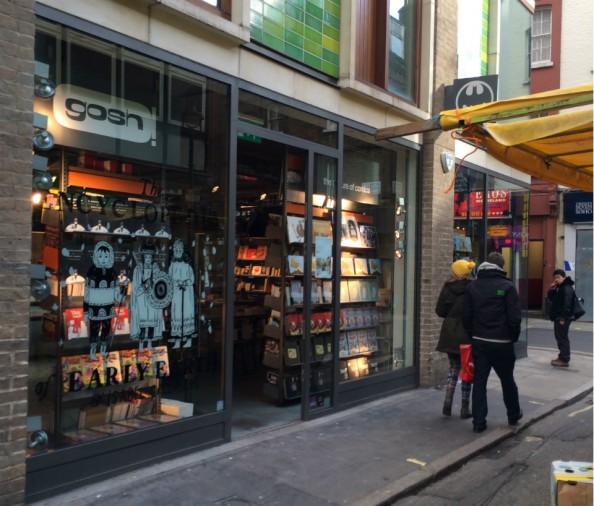 Gosh! Comics: a melhor loja de quadrinhos de Londres