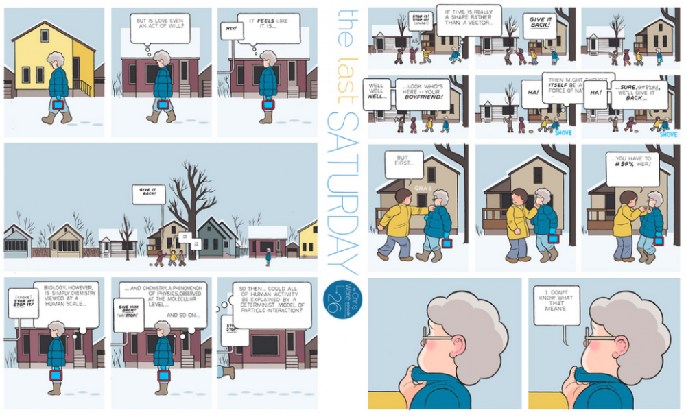 The Last Saturday: a HQ do Chris Ware pro Guardian – Parte #27