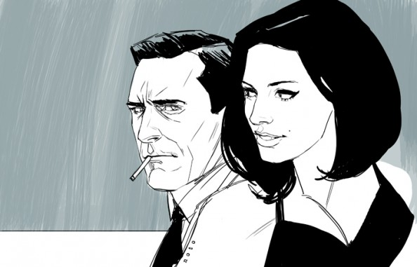 Mad Men por Phil Noto