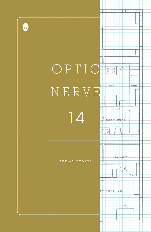 A capa de Adrian Tomine para Optic Nerve #14