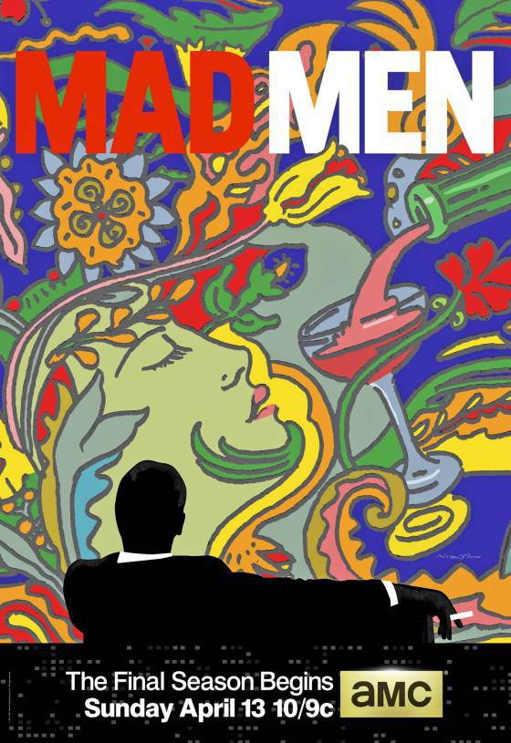 O cartaz da última temporada de Mad Men