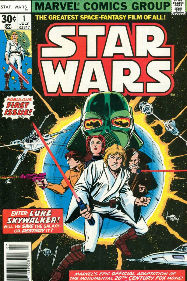 Como a Marvel passou a publicar os quadrinhos de Star Wars nos anos 70
