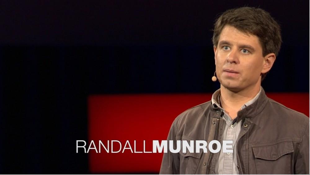 O TED de Randall Munroe, o criador do xkcd