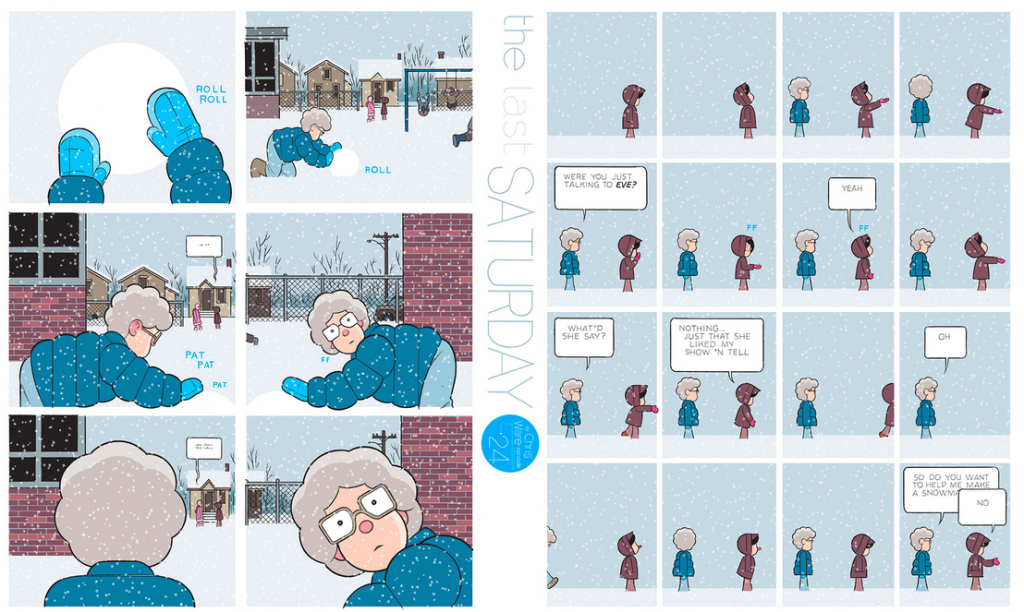The Last Saturday: a HQ do Chris Ware pro Guardian – Parte #25