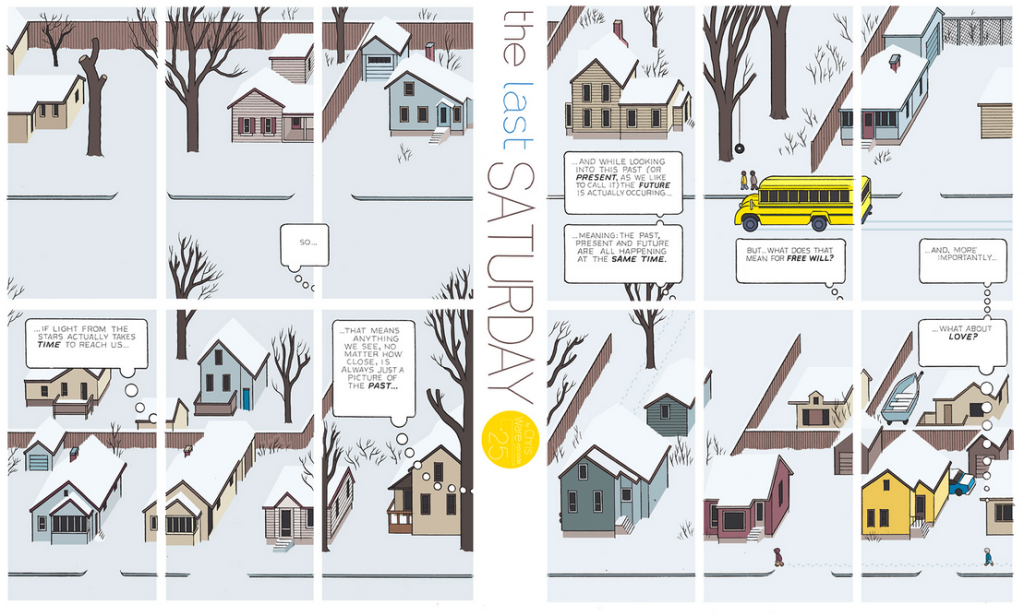The Last Saturday: a HQ do Chris Ware pro Guardian – Parte #26